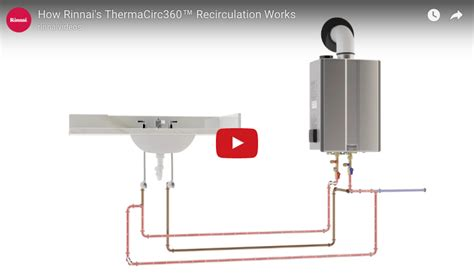 Sink On Demand Recirculation by How Rinnai S Thermacirc360 Water Recirculation Works