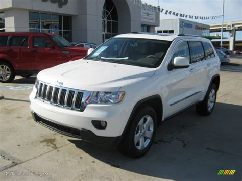 jeep cherokee white 2012 stone white jeep grand cherokee laredo x package 4x4