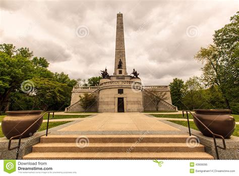 Abraham Lincoln Tomb Stock Photo - Image: 43906095