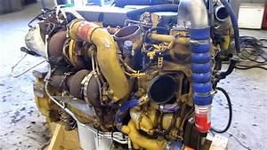 2008 Caterpillar C13 Acert Diesel Engine Running