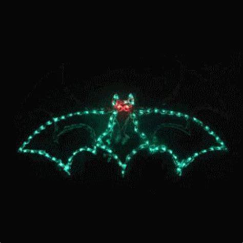 animated light displays animated lighted bat