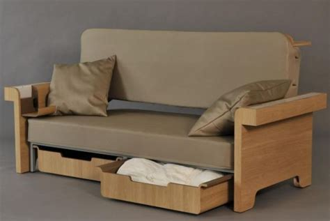 All In One Sofa Bed Dining Table Workstation Furnishes