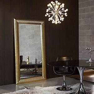 Grand Miroir Design AchatVente Miroir Moderne Nick Gold