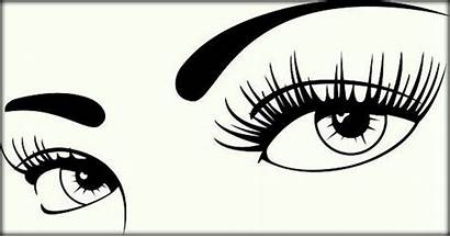 Eyes Coloring Pages Printable Vector Clip Eye