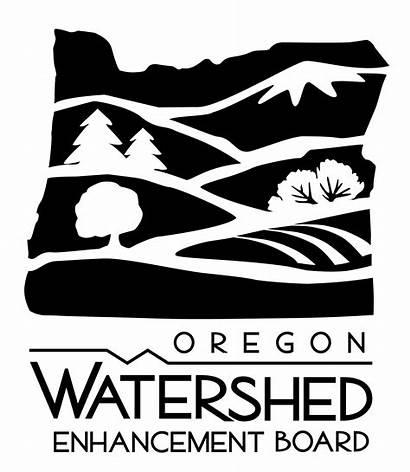 Oregon Logos Watershed Vertical Transparent State Enhancement
