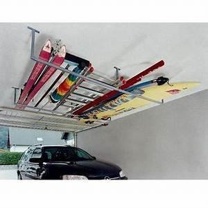 Rangement Plafond Garage : rangement plafond entre nos poutres organisateur garage storage und cottage ~ Melissatoandfro.com Idées de Décoration