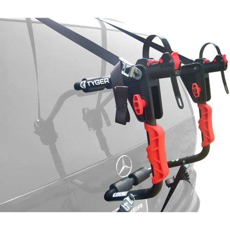 5 bike rack for suv tyger deluxe trunk mount 1 bike carrier rack for sedan
