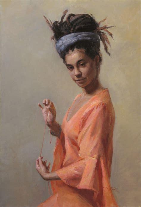 Imágenes Arte Pinturas: Arte figurativo pinturas con mujeres