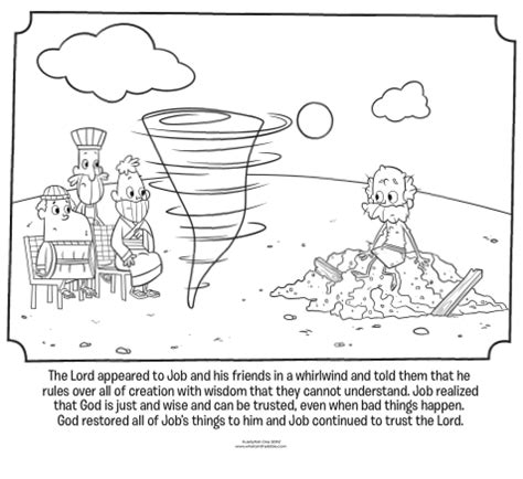 god visits job bible coloring pages whats   bible