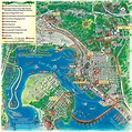 San Diego Map Tourist Attractions - TravelsFinders.Com