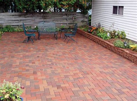 Menards Patio Paver Patterns by 4 Quot X 8 Quot Paver At Menards Raised Bed Plants And