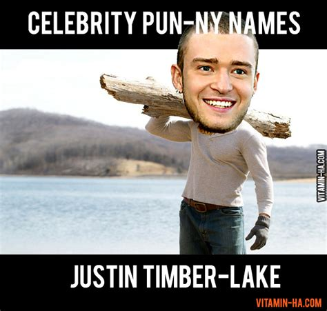 Funny Meme Names - celebrity pun names