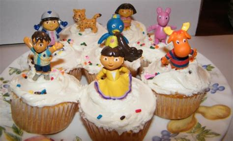dora birthday cake toppers dora cupcake rings  buy cheaper