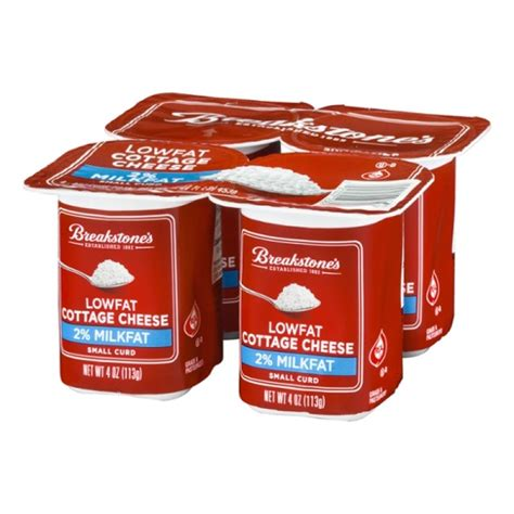 Cottage Cheese 2 by Cottage Cheese Breakstone S 2 4 Ct 4 Oz Prestofresh