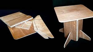 Build A Simple, Sturdy Table That Folds Flat For Easy
