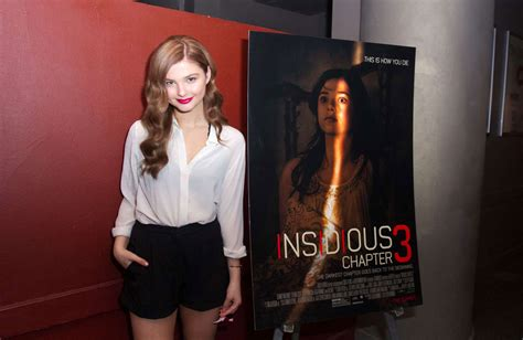 STEFANIE SCOTT at Insidious Chapter 3 Trailer Launch Event ...