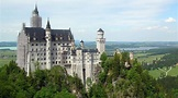 Neuschwanstein Castle & Bavaria, Germany Aerials in 4K ...