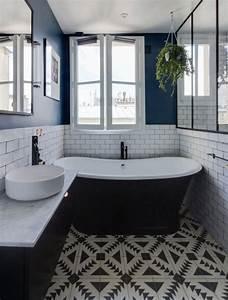 salle de bain avec carreaux de ciment With salle de bain avec carreaux de ciment