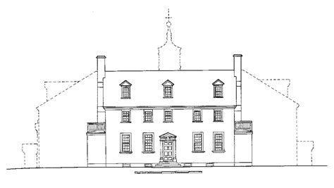 gwu district house floor plans the mansion 183 george washington s mount vernon