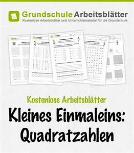 Quadratzahlen Berechnen : quadratzahlen kostenlose arbeitsbl tter ~ Themetempest.com Abrechnung