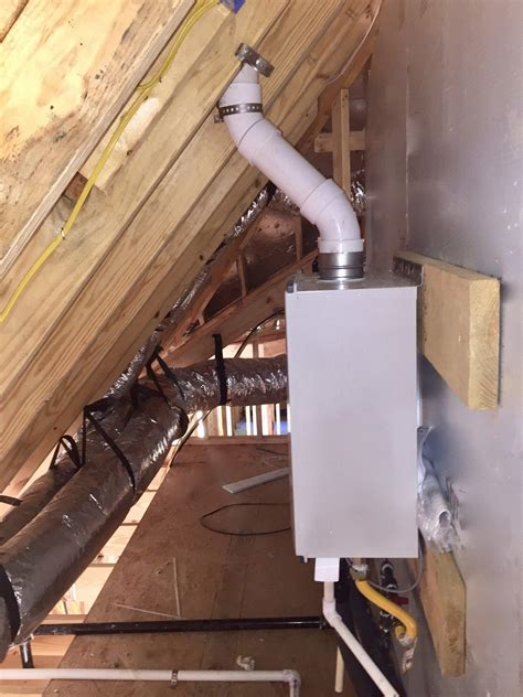 install  tankless water heater