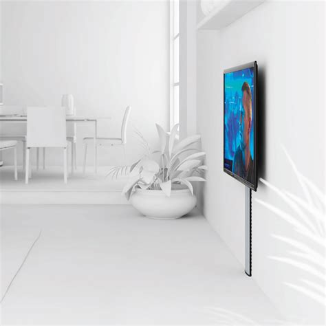 comment cacher les fils tv murale vogel s cable 10l support mural tv vogel s sur ldlc