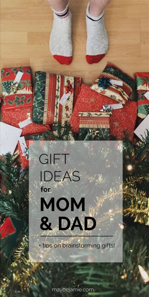 gift ideas  mom  dad tips  gift brainstorming