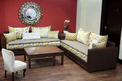 salon marocain canapé canapé et fauteuil pour salon marocain design