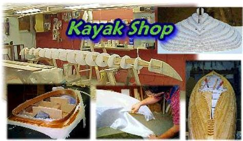 wood kayak shop building  ocean kayaks
