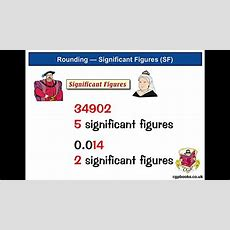 Rounding 2 — Significant Figures (tutorial) Youtube