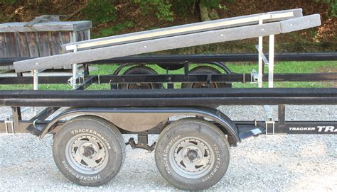 Loading Pontoon Boat On Trailer by Pontoonloader Pontoon Loading Made Easy
