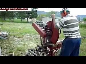 Scie A Buche : scie buches youtube ~ Edinachiropracticcenter.com Idées de Décoration