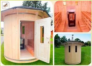 sauna tonneau horizontal sauna tonneau vertical pas cher With sauna maison pas cher