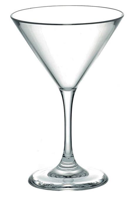 Bicchieri Martini by Bicchiere Coppa Martini Policarbonato Bicchieri