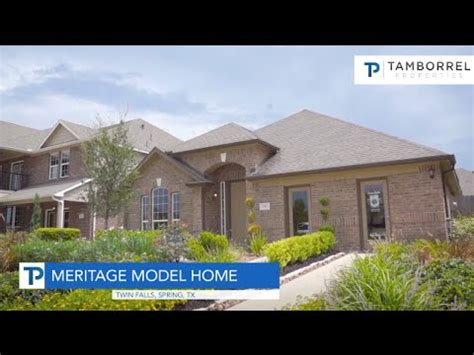 meritage homes thoreau floor plan  twin falls youtube