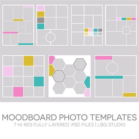Moodboard Photo Templates / LBG STUDIO