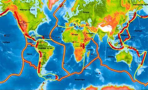 Carte Des Volcans Actifs Dans Le Monde by Les Volcans Ecologie Vraie Et R 233