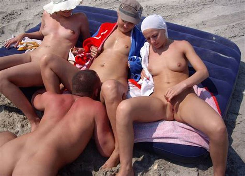 #Group #Of #Amateur #Swingers #Have #Fun #On #The #Beach