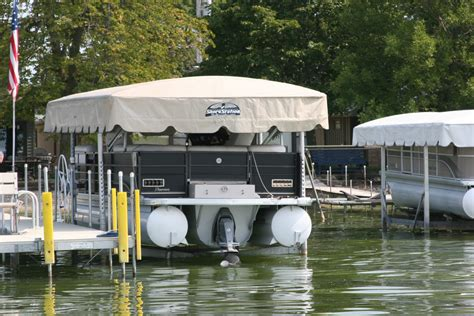 Pontoon Boat Lifts For Sale by Pontoon Lifts Lift Options Shorestation 174