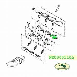 Land Rover Ignition Coil Assy Set X2 Freelander 03