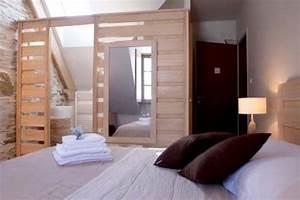 Faire Une Cloison En Bois : pour ou contre la salle de bain ouverte sur la chambre tous les tages le blog ~ Melissatoandfro.com Idées de Décoration