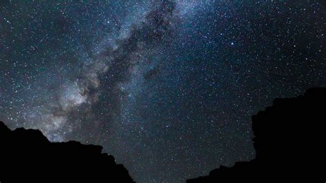 Stock Video Clip Of Star Time Lapse Milky Way Galaxy At