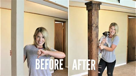 HOW TO: Wrap a Support Post   Easy DIY Project   YouTube