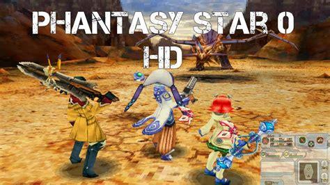 Phantasy Star Zero Game Highlights Hd (improved Graphics