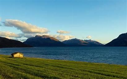 Sea Wallpapers Norway Tromso Landscape Lawn Sky