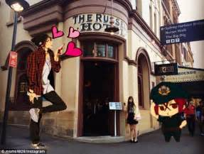 Anime Hotel Japan Japanese Tourists Flock To Sydney Hotel Which Featured In