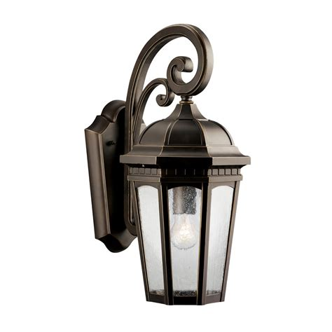 kichler lighting 9033rz outdoor wall lighting courtyard