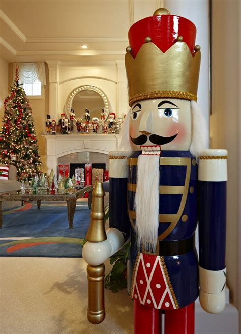 nutcrackers galore and more at this home for the holidays the seattle times