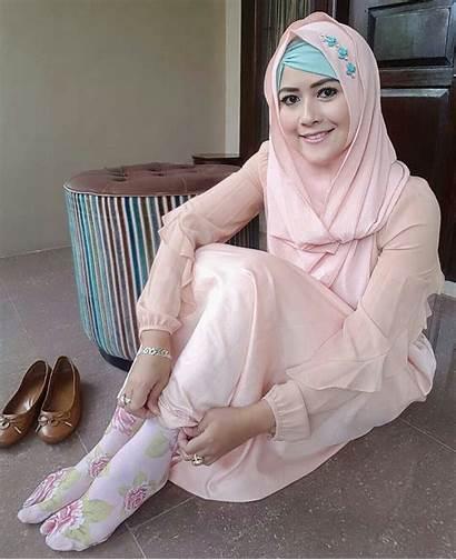 Hijab Muslim Socks Niqab Outfit Mit Tights