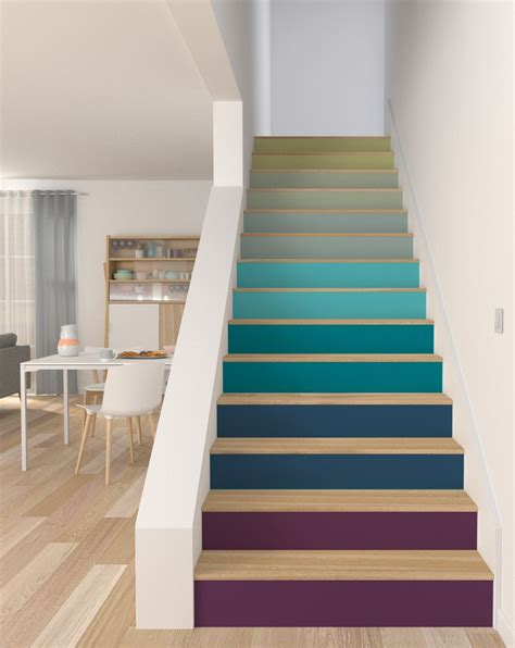 peignait les escaliers staircases salons
